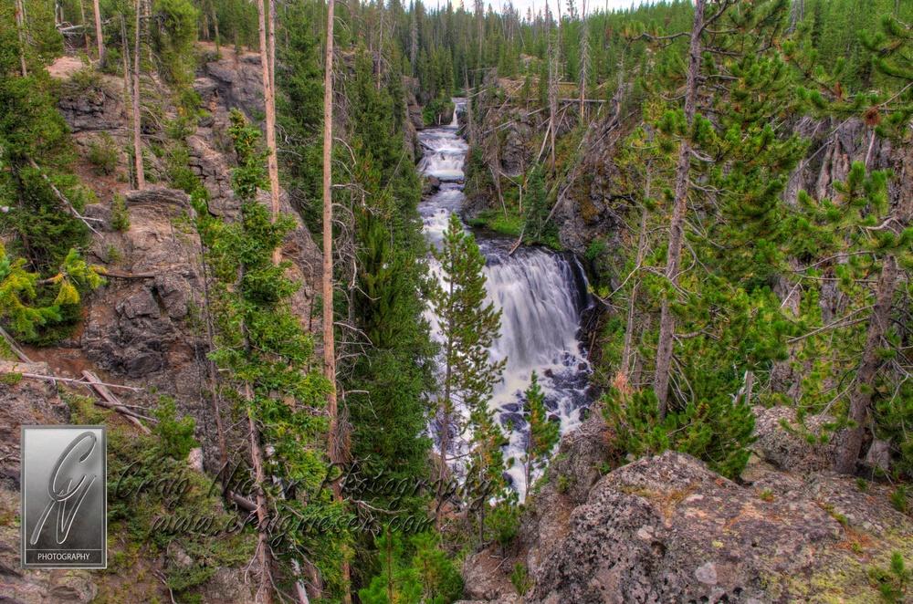 Kepler Cascades, Yellowstone National Park