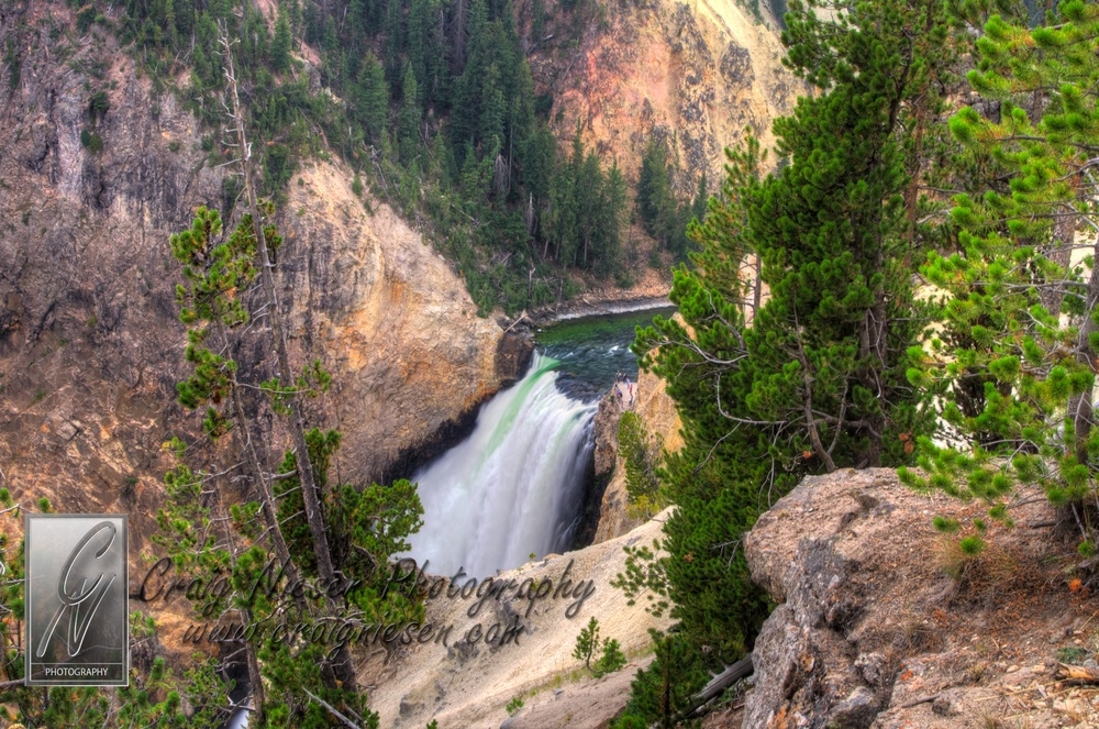 The Lower Falls of the Yellowstone River, Yellowstone National Park