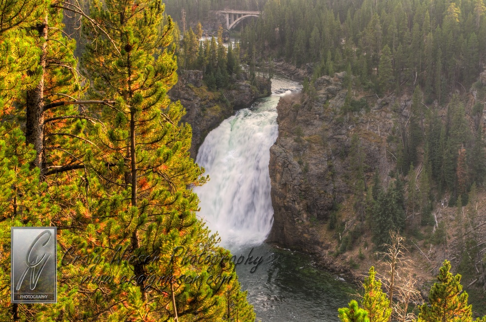 The Upper Falls of the Yellowstone River, Yellowstone National Park