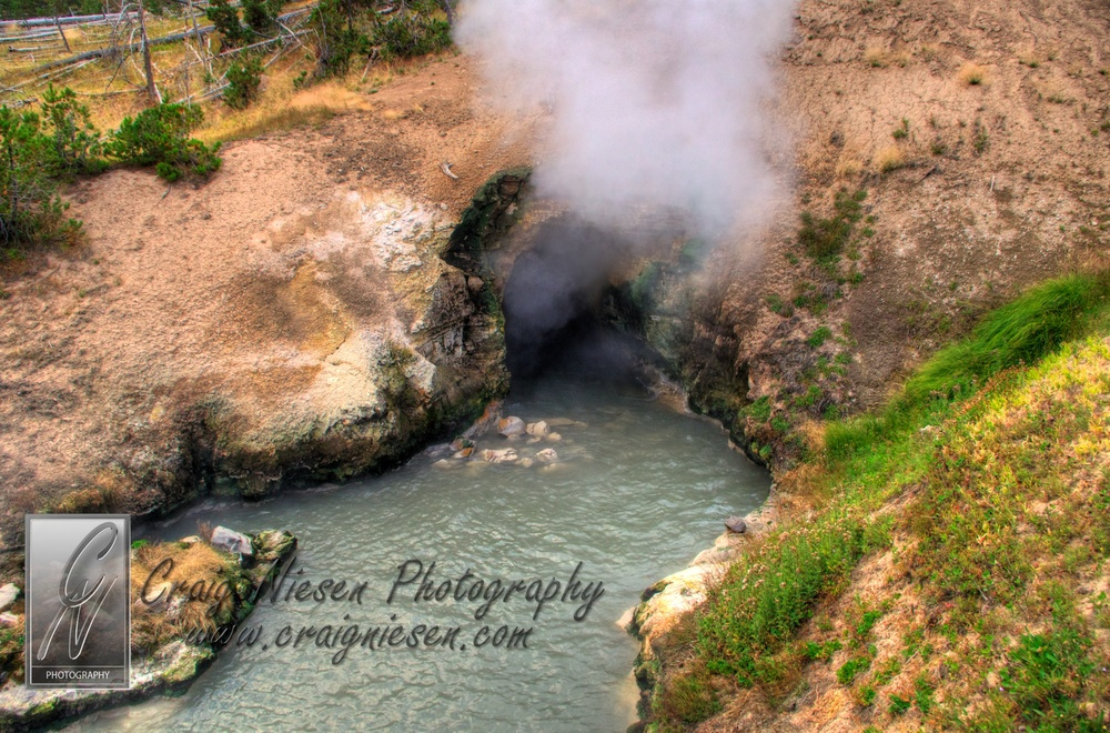 Dragon's Mouth Spring, Yellowstone National Park