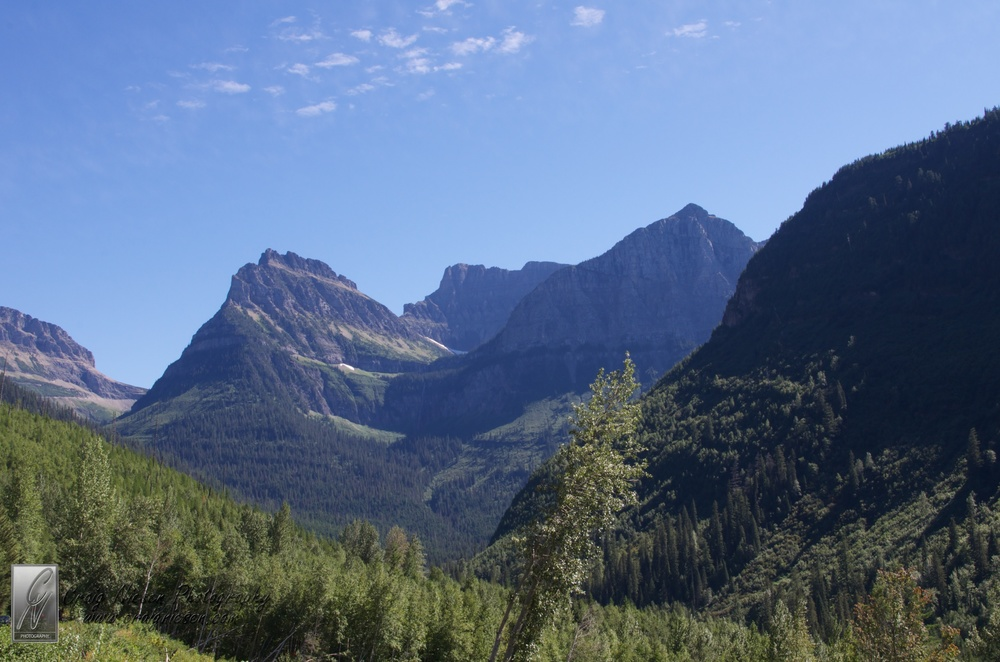 Bird Woman Falls (in the distance), Glacier National Park