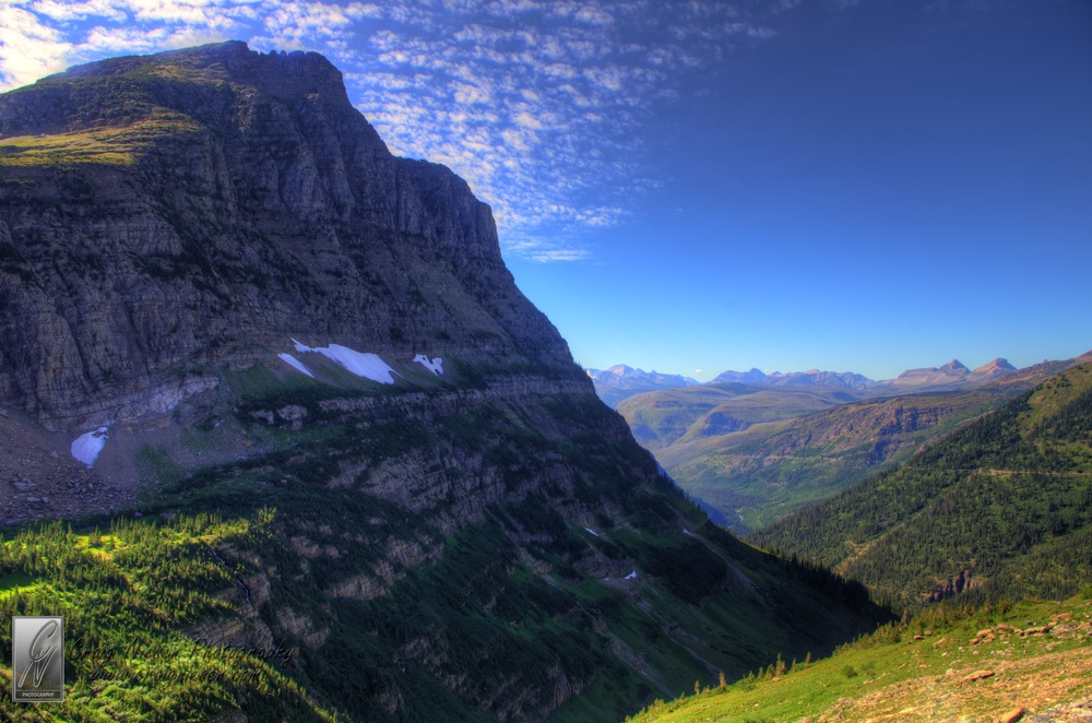 Mt Oberlin, Glacier National Park
