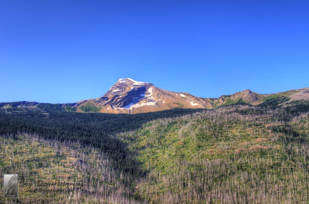 Heavens Peak, Glacier National Park