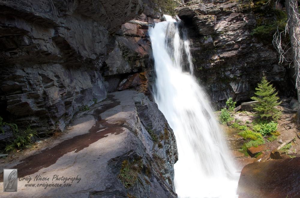 Baring Falls, Glacier National Park