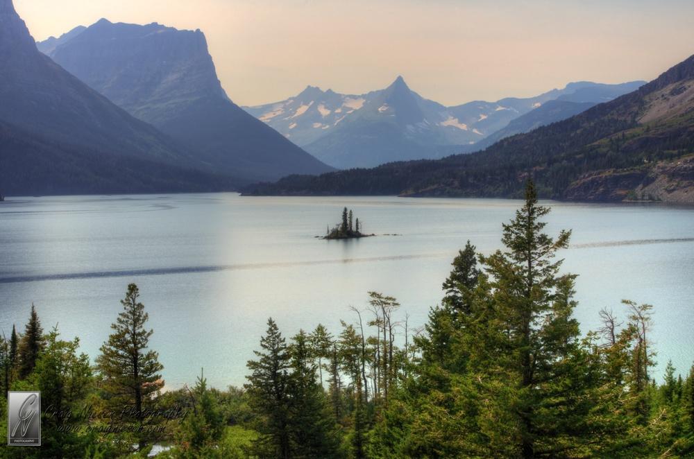 Saint Mary Lake and Wild Goose Island, Glacier National Park