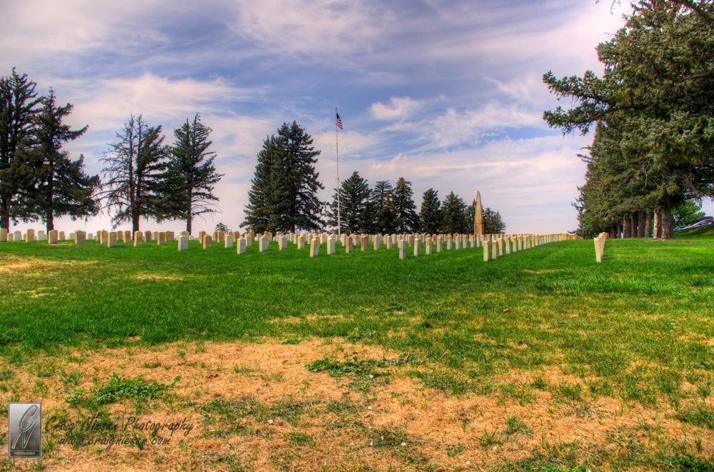 Custer National Cemetery, Little Bighorn National Battlefield Monument