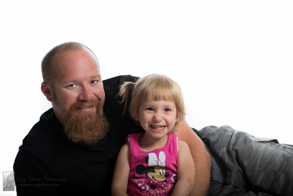 Abbie and Daddy - Finished version