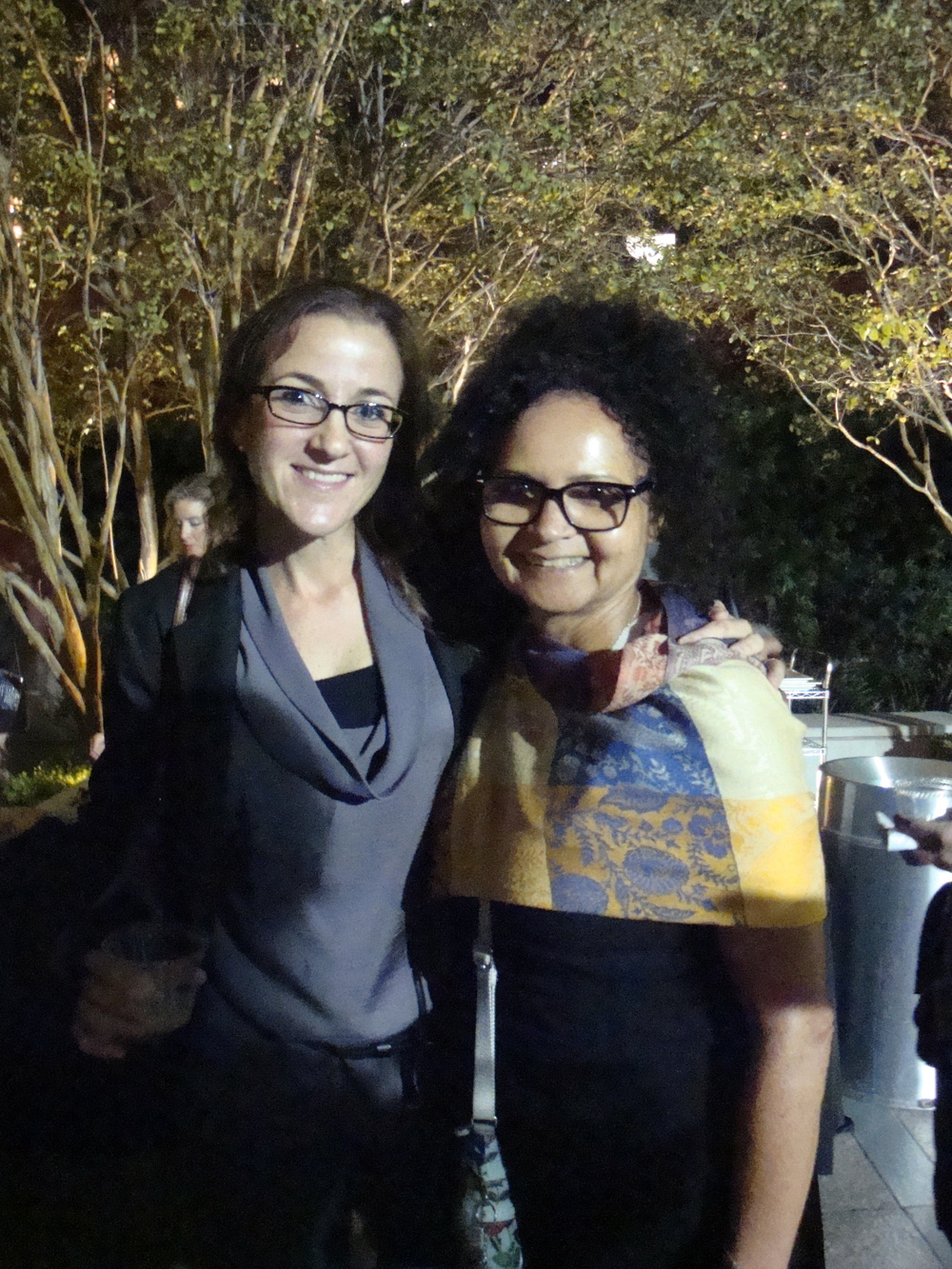 LAFLA volunteer with Millie Heur Development Associate of LAFLA