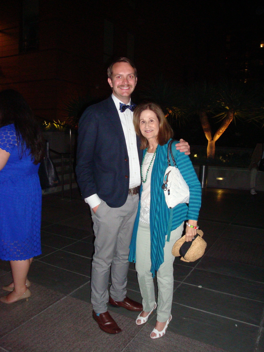 Derek Purdy and Doris Koplik Directors of Media Relations Long Beach Opera