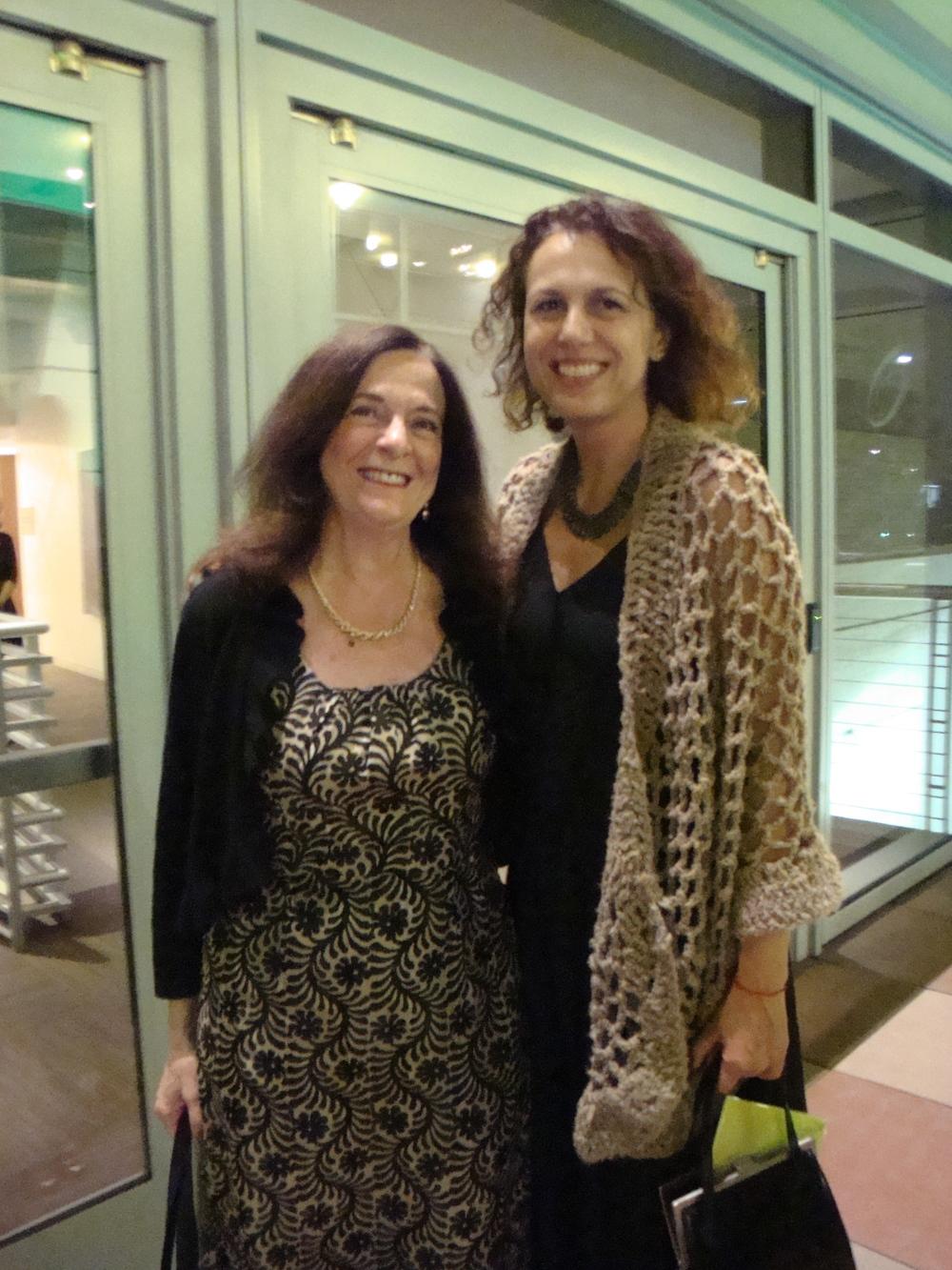 Kathleen Charla and Dalia Setareh