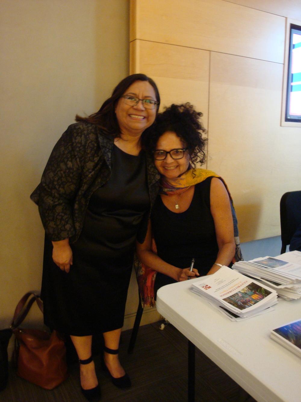 Silvia Argueta and Millie Huer