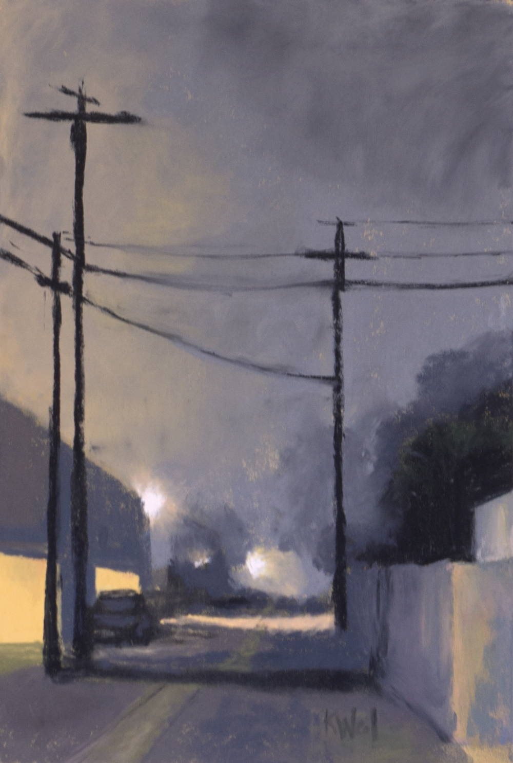 Back Alley by Kathleen Weil