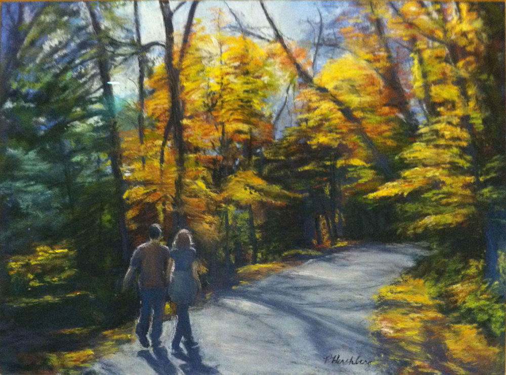 Autumn Afternoon by Pat Hershberg