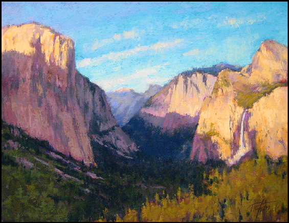 "Yosemite Vista"" Pastel by Terri Ford"