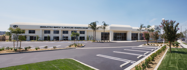 The South Bay Lexus Center is located at 24777 Crenshaw Blvd. Torrance, CA 90505