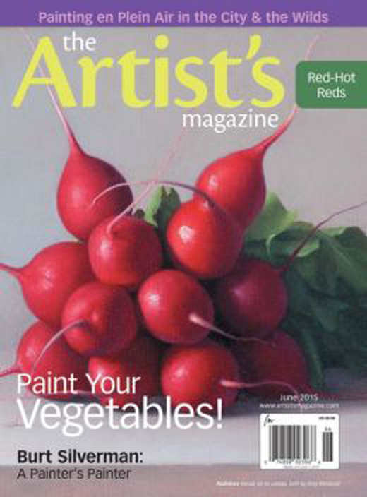 June 2015 issue of the Artist's Magazine