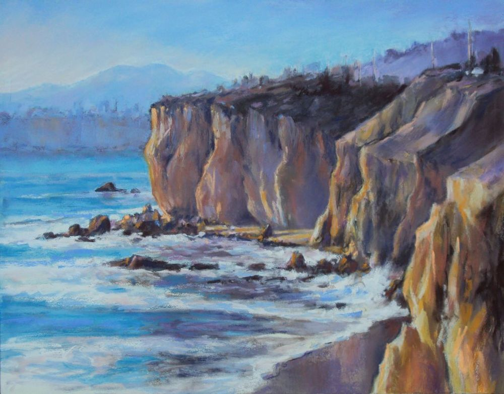 Sunset Cliffs, Pismo Beach by Fran Nichols