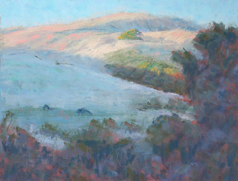 Afternoon Light Near Point Reyes by Bob Barret