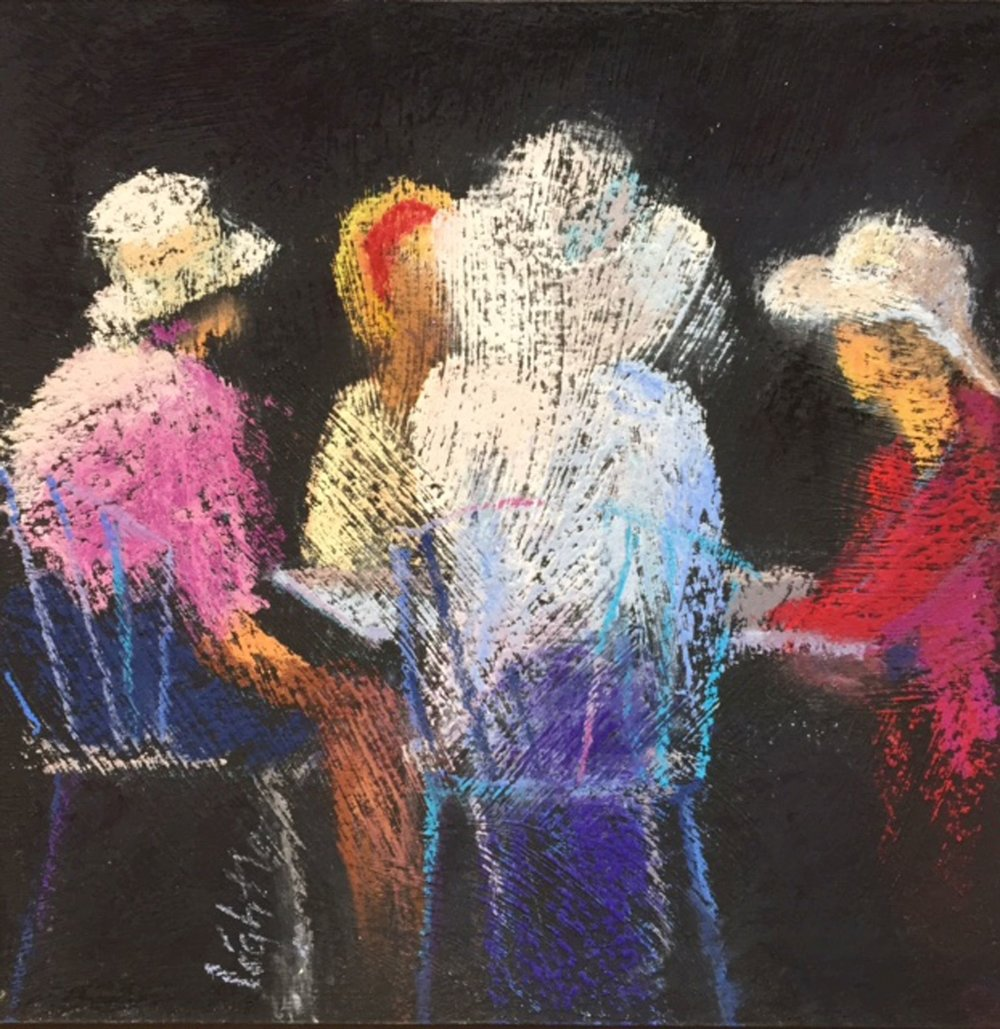 Ladies at Lunch by Marj Lightle