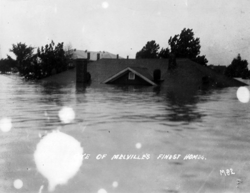 Flooded home 1927