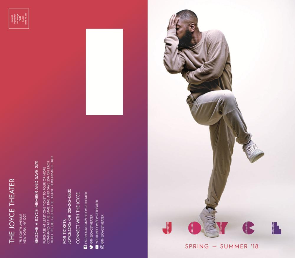 Kyle Abraham Joyce Brochure cover