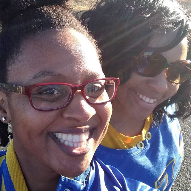We are out nice and early at the Solano County NPHC 5k!  #SGRho #SigmaGammaRho #SiliconValleySGRho