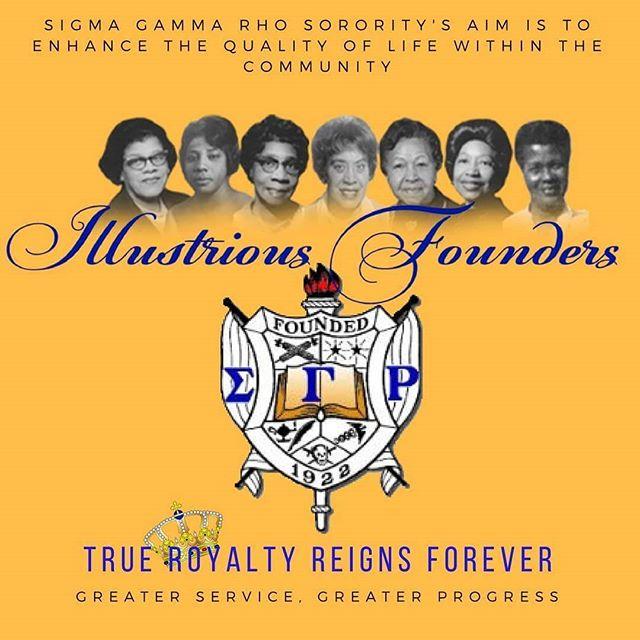 Let's start the month off honoring our Illustrious Founders!  #SGRho #SGRho1922 #SigmaGammaRho #WesternSGRho #FoundersMonth #November