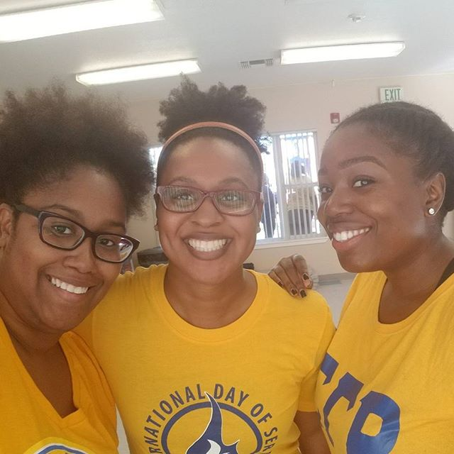 Had a wonderful time serving with sorors today for our International Day of Service!  #SigmaGammaRho #SGRho #SGRhoDayofService #SiliconValleySGRho #WesternSGRho #SGRhoupdates #SGRho95