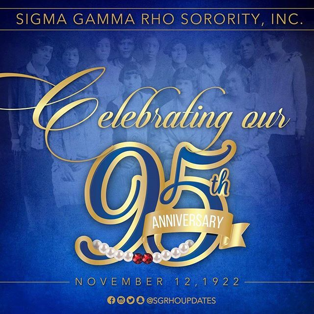 HAPPY FOUNDERS' DAY  We are celebrating 95 years of service, scholarship and sisterhood. Sigma Gamma Rho Sorority, Inc. has a rich history that has spanned more than nine decades. We are proud of the foundation our seven pearls laid. We continue their commitment and dedication to our community. We are a sisterhood for the future that is intentional and impactful. We have measurable outcomes on how we are changing lives.  #SigmaGammaRho #SGRho #SGRho95 #WesternSGRho #SiliconValleySGRho #November
