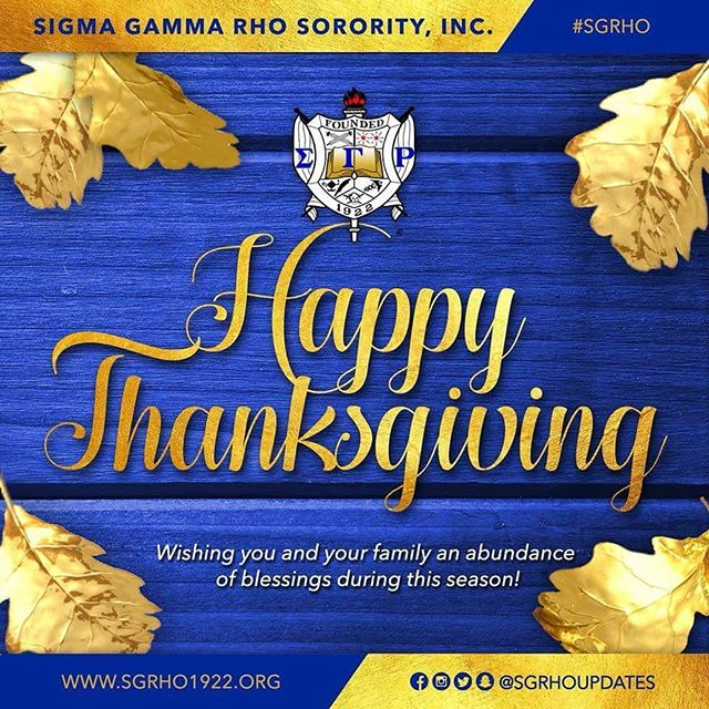 Happy Thanksgiving!  #SigmaGammaRho #SGRho #WesternSGRho #SiliconValleySGRho #Thanksgiving #Grateful #Gratitude