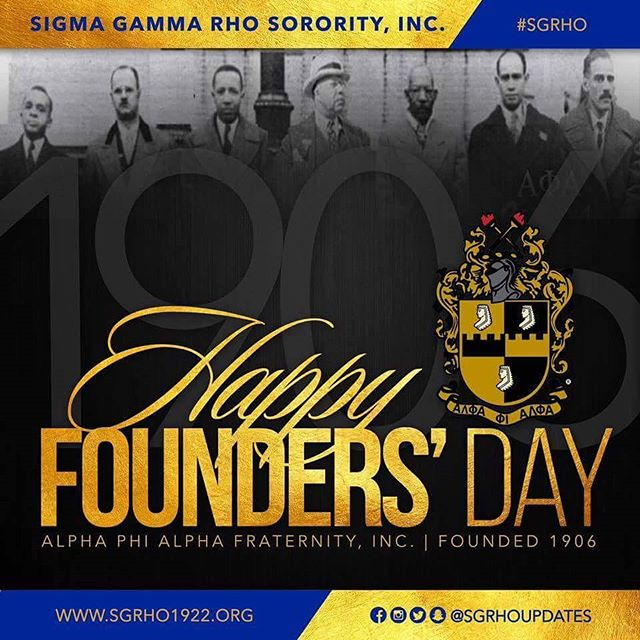 Happy Founders' Day to the men of Alpha Phi Alpha!
