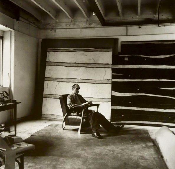 Paul Klee in his studio