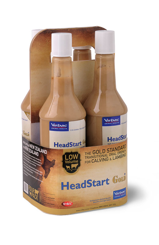 HeadStart Gold packaging design