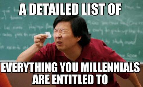 List for millennials