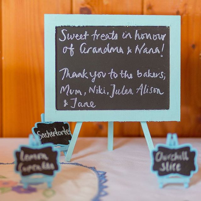 Sweet treats made in memory of two well-loved & sorely missed ladies, from their hand-written recipes. ___  What a way to honour & incorporate the love & life gone before you own.  ___  Here's to the Nana's & the Grandma's, the Granny's & the Oma's! ___  #weddingdetails #weddingdayrememberance #remembering #rememberingthosewhoarenolongerwithus #recipesoflove #inmemory #specialrecipes #specialladies #weddingdaybaking #bakingupmemories #cherishspecialmemories #rememberingspecialpeople