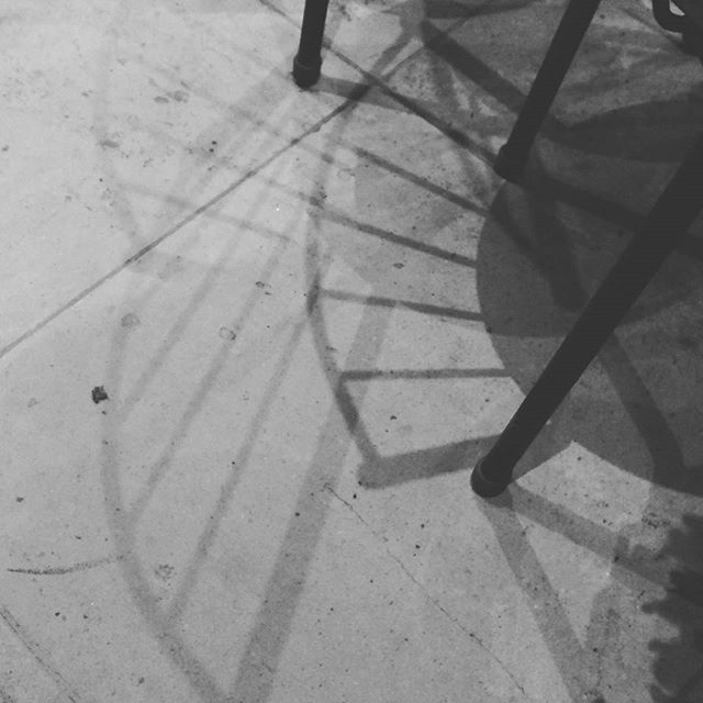 Fibonacci chair shadows!