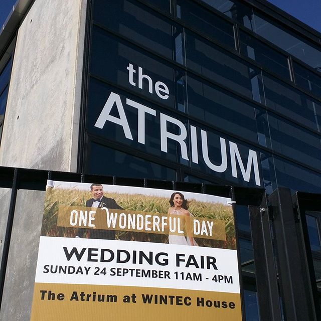 Wonderful things are afoot... Looking forward to tomorrow!!! ___  #onewonderfulday #weddingfair #wedinwaikato