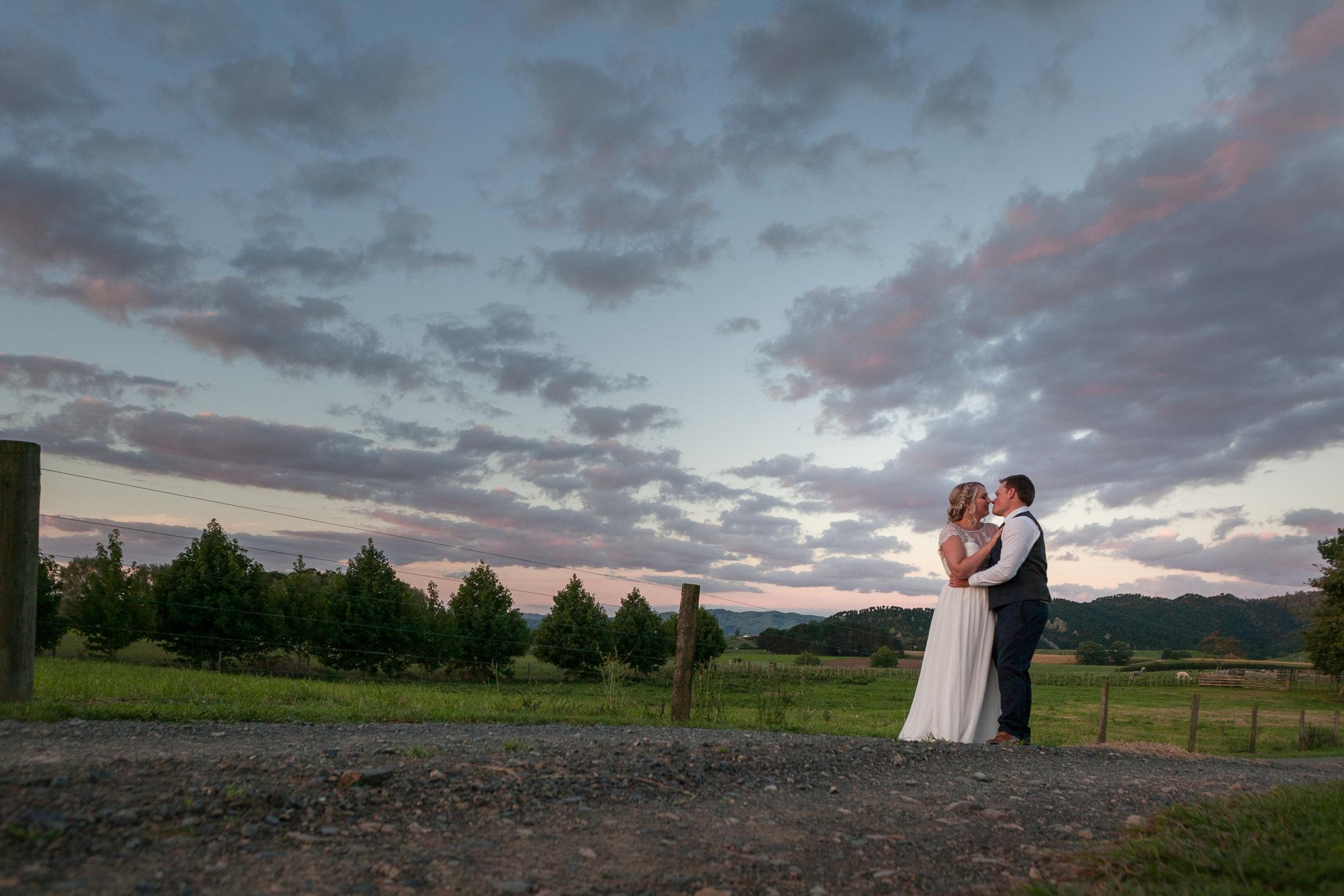 Danielle & Robert | Rural Garden Wedding — Waikato Documentary ...