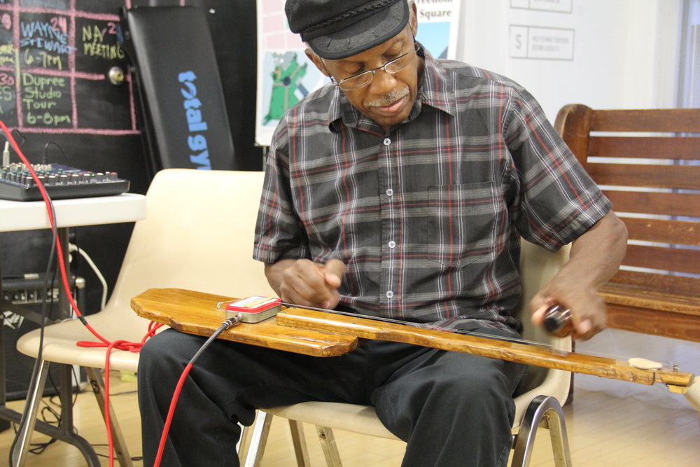 Papa Ed Stokes talks about his handmade instruments and music that blends African, Soul, and Southern Jazz.