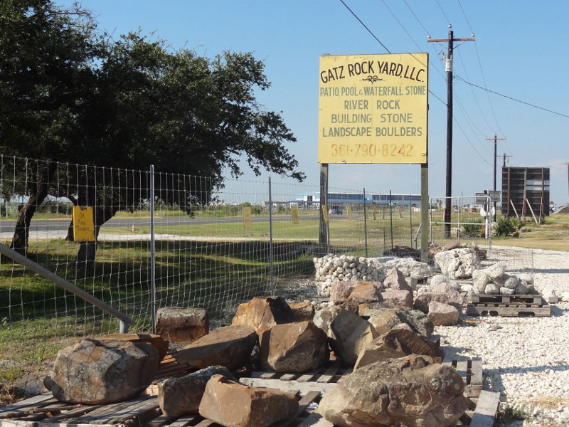 Rockport, TX Location - Gatz Rock Yard, LLC.