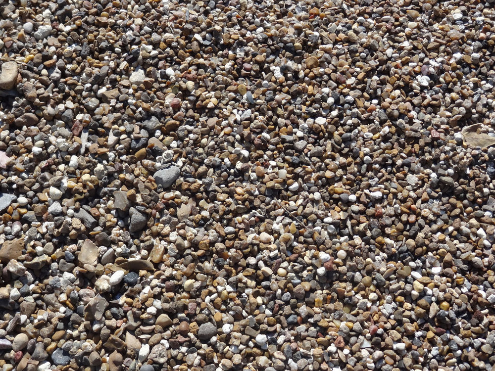Red Pea Gravel : Pea gravel
