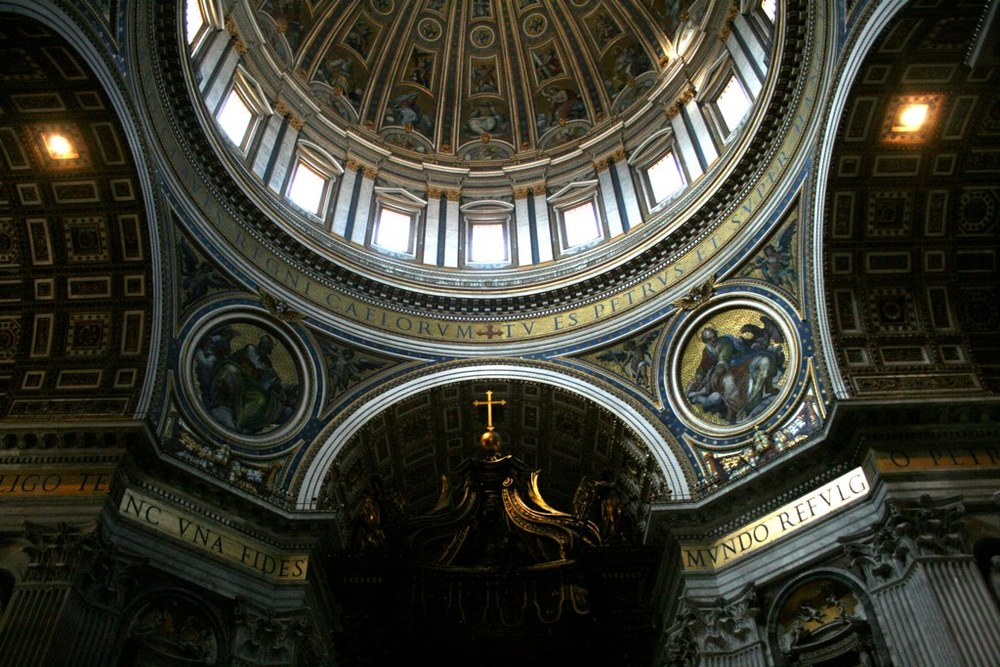 One of many photos of St. Peter's Basilica. Check out the rest on Flickr.