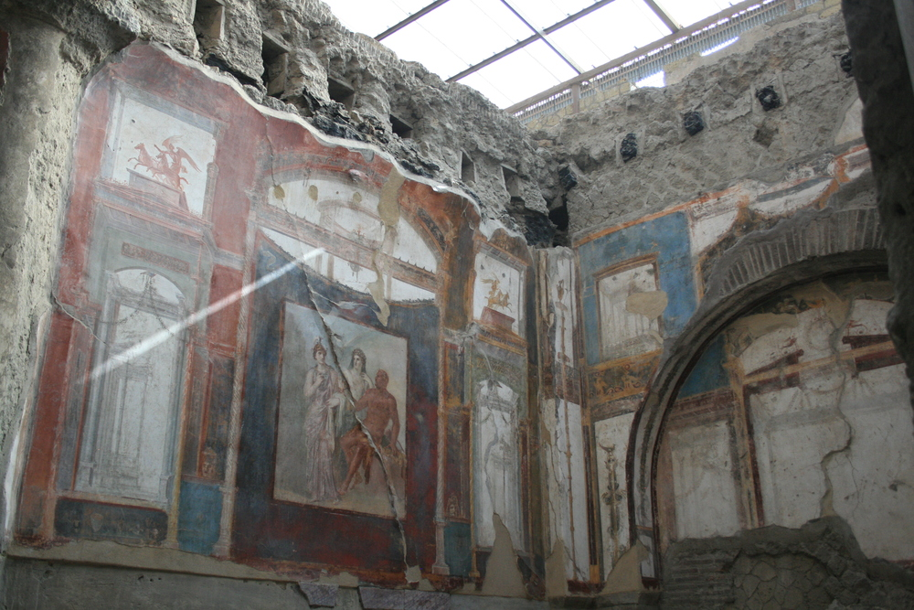 The Sede degli Augustali at Herculaneum