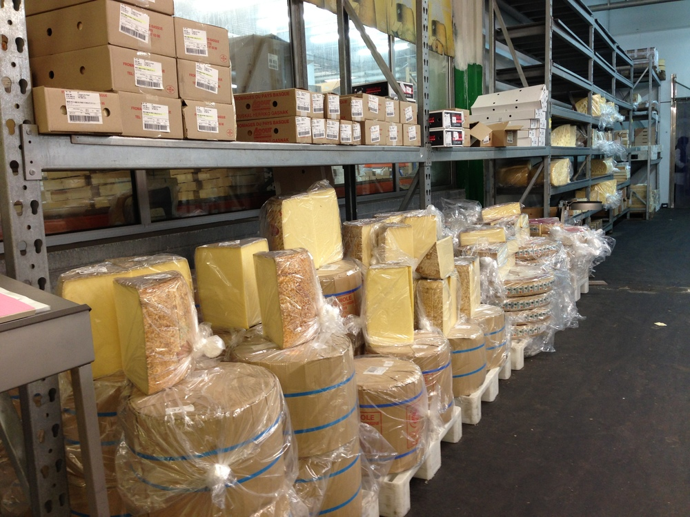 Some of the biggest cheeses I've seen.