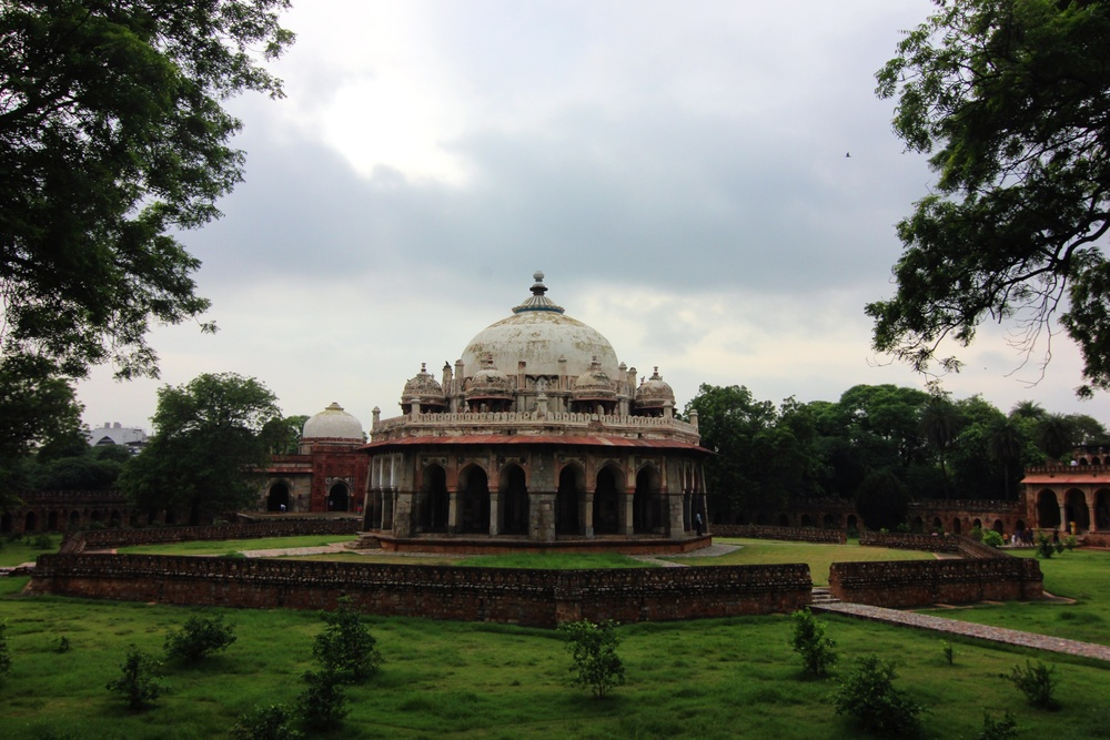 Isa Khan's tomb. This is just a teaser - see more on Flickr.