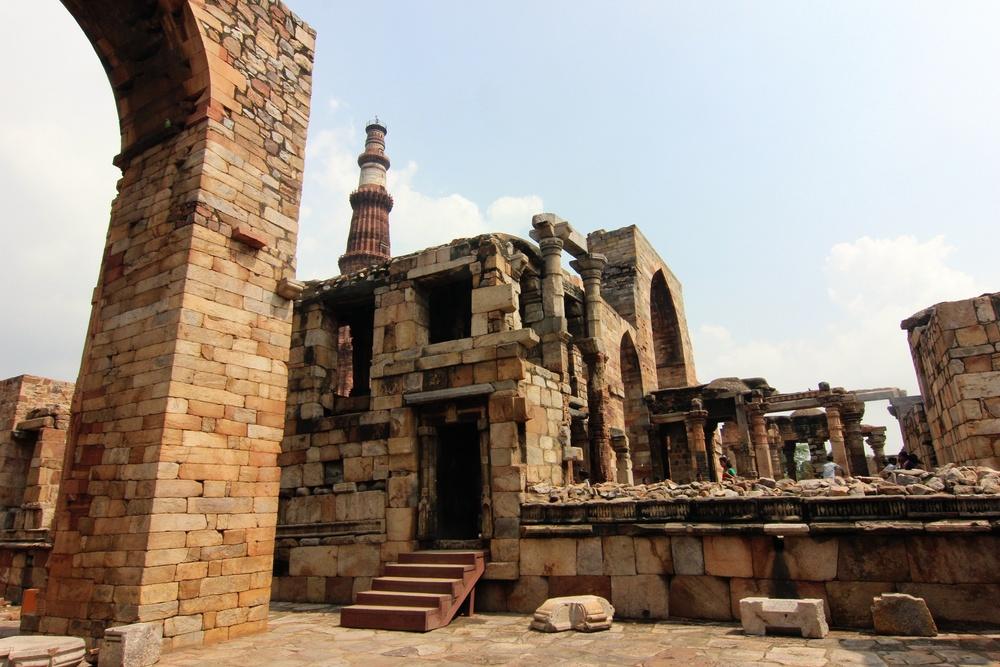 Qutub Minar.
