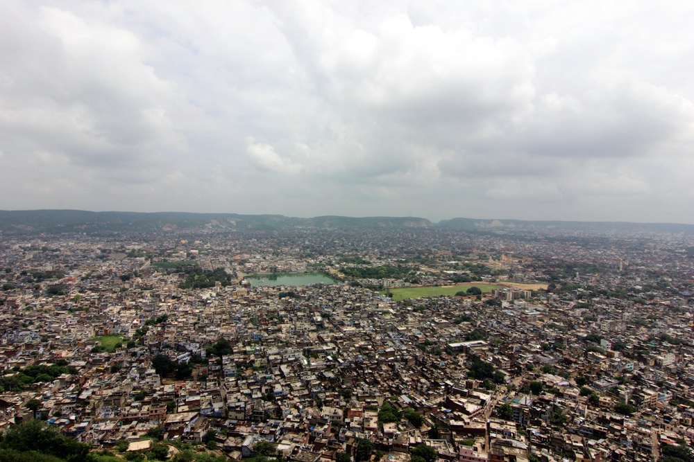 Jaipur from Nahargarh Fort.