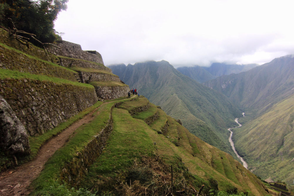The terraces of Intipata.