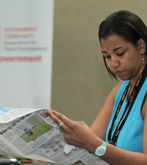 ATD Conference Daily newspaper: Available to all 10,000+ attendees (Daily distribution)