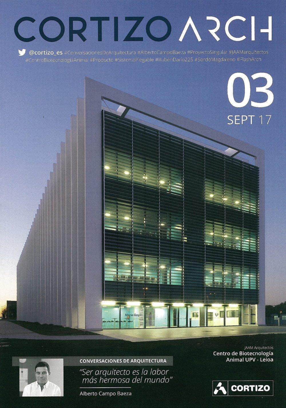 Cortizo Arch 03 - Centro de Biotecnología Animal